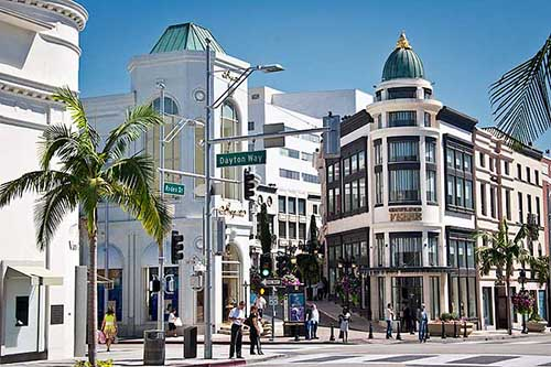 Los Angeles, Beverly Hills e Rodeo Drive