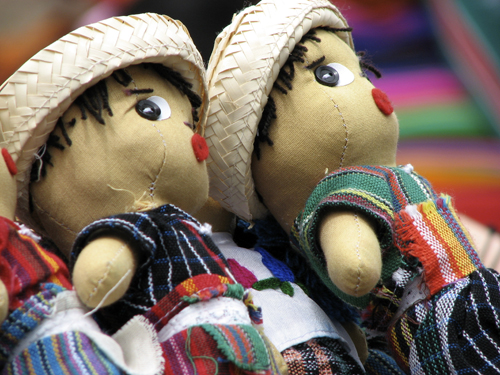 oggetti tipici Guatemala