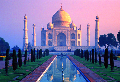 Il Taj Mahal e il pericolo dell'inquinamento