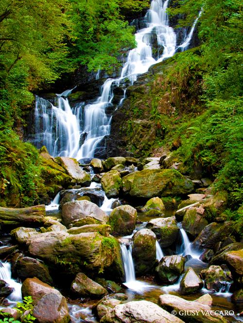 Racconti di viaggio: Irlanda, la scoperta delle cascate Torc Waterfal