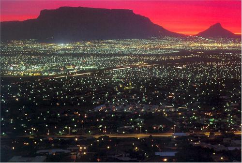 Cinque meraviglie, Città del Capo