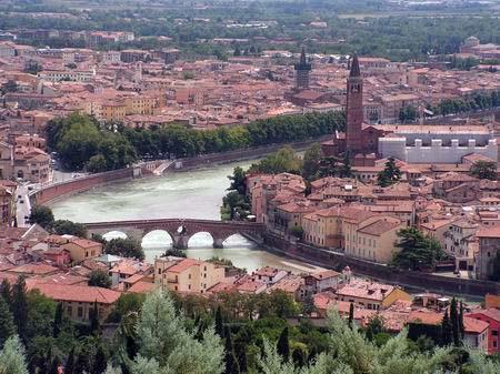 Verona: città romantica