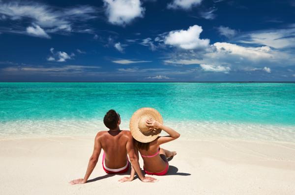 spiaggia maldive