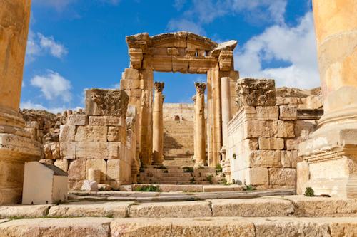 Jerash, tra le destinazioni più amate in Giordania