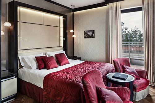 Carlton Hotel Baglioni Modern Art Deco Suite