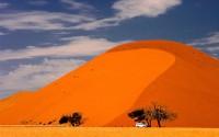Tra le dune del Namib in quad