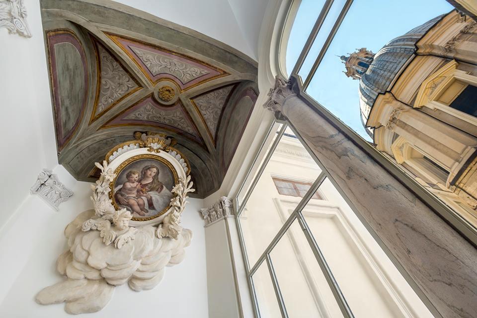 Hotel Eitch Borromini a Palazzo Pamphilj
