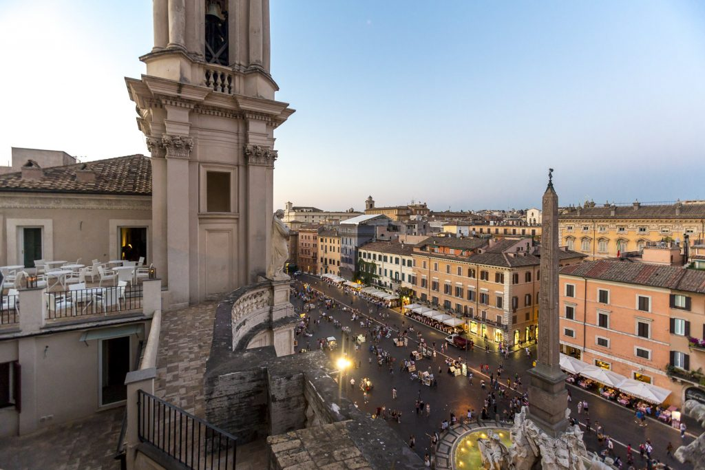 Terrazza Eitch Borromini Piazza Navona