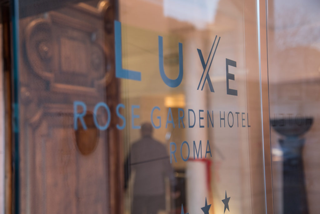 Luxe Rose Garden Hotel Roma