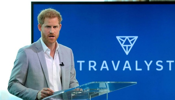 principe harry presenta travalyst