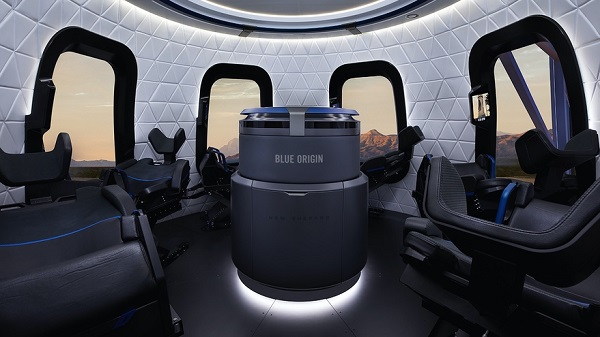 Viaggio Spaziale Turistico, venduto il primo biglietto di Blue Origin